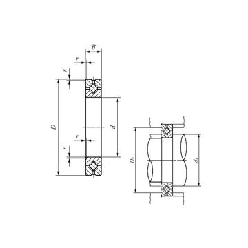 CRBH 5013 A IKO Thrust Roller Bearings