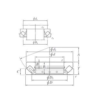 29388R KOYO Thrust Roller Bearings