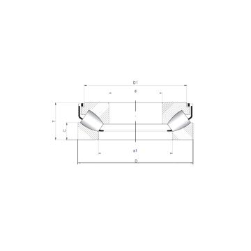 29317 M ISO Thrust Roller Bearings