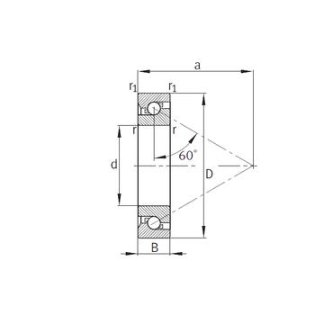 7602085-TVP FAG Thrust Ball Bearings