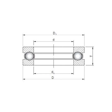 51330 CX Thrust Ball Bearings