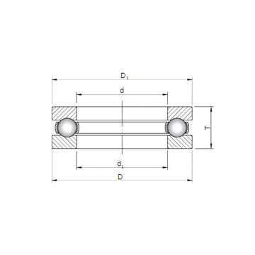 51424 CX Thrust Ball Bearings