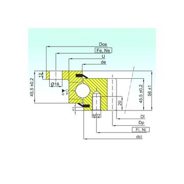 ZBL.20.0644.201-2SPTN ISB Thrust Ball Bearings