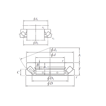 29384R KOYO Thrust Roller Bearings