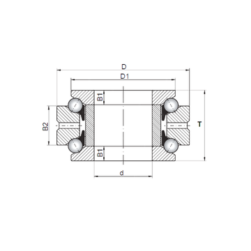 234428 MSP CX Thrust Ball Bearings