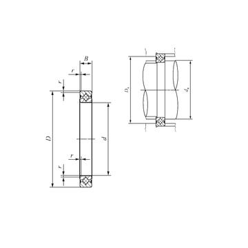 CRBS 1308 V UU IKO Thrust Roller Bearings