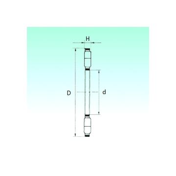 K89328-M NBS Thrust Roller Bearings