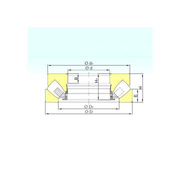 29352 M ISB Thrust Roller Bearings