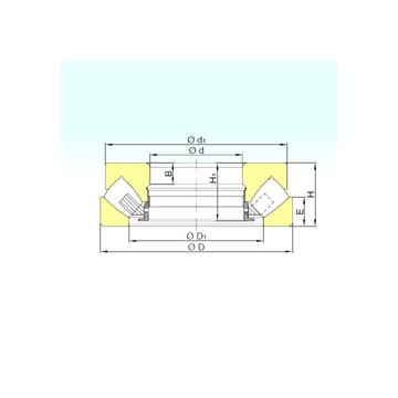 29434 M ISB Thrust Roller Bearings