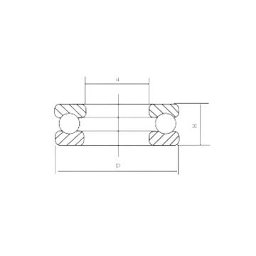 51117 CRAFT Thrust Ball Bearings