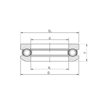 53205 CX Thrust Ball Bearings