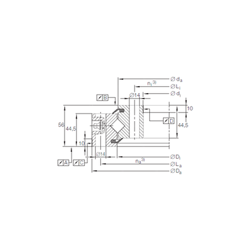 XSU 14 0544 INA Thrust Roller Bearings