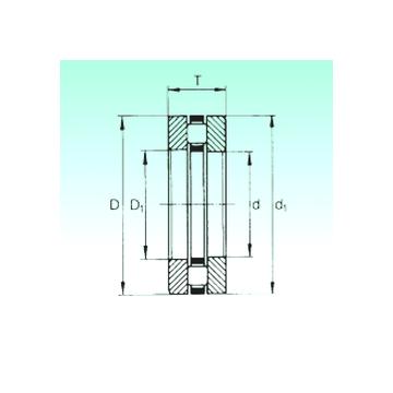 81136-M NBS Thrust Roller Bearings