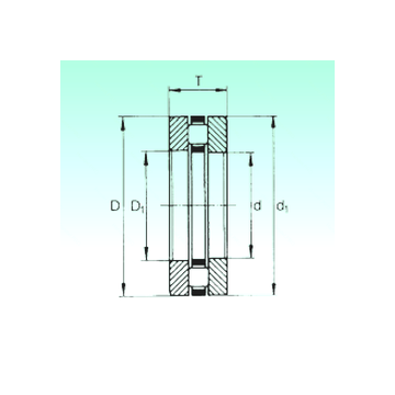 81152-M NBS Thrust Roller Bearings