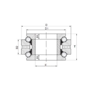 234413 MSP CX Thrust Ball Bearings