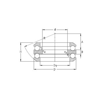 54305 NKE Thrust Ball Bearings